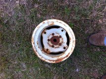 Tractor front rims (Firestone) old in Fort Polk, Louisiana
