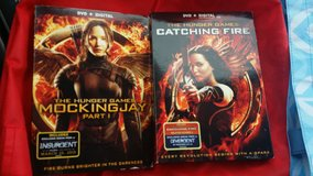 The Hunger Games DVD Mocking Jay part 1 & Catching Fire in Lockport, Illinois