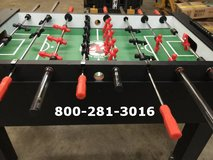 Deal of the century on a brand new pro foosball table in Riverside, California