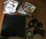 Ps3 120 Gb+10 Games. in Lockport, Illinois
