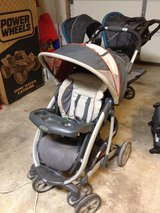 stroller with car seat and base in Watertown, New York