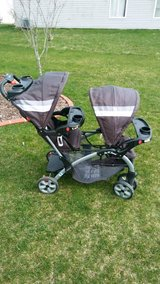 Baby Trend Sit N' Stand Double Stroller in Oswego, Illinois