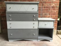 MCM Chest of Drawers and End Table in Kingwood, Texas