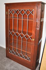 Leaded glass front case - in Naperville, Illinois