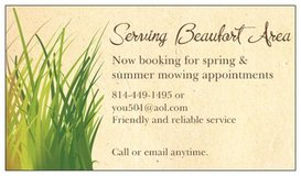 Do you need your yard mowed ? in Beaufort, South Carolina