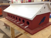 16 Hole Wood Bird House in DeRidder, Louisiana