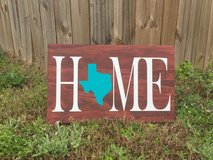 Home Wood Sign in Fort Bragg, North Carolina
