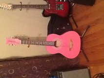 Acoustic guitar pink in Fort Campbell, Kentucky