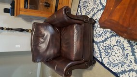 Leather chair in Eglin AFB, Florida
