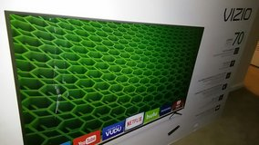 Vizio BRAND NEW NEVER OPEN SMART TV 70' in Fort Rucker, Alabama