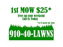 Free Your Weekend - Call Us Today for Lawn Service in Camp Lejeune, North Carolina