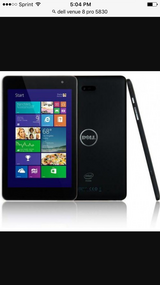 Like new Dell venue 8 pro window 10 touch tablet in Naperville, Illinois