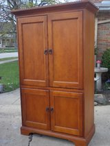 Maple Armoire Cabinet in Chicago, Illinois