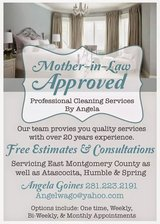Mother in Law Approved Detailed House Cleaning in Kingwood, Texas