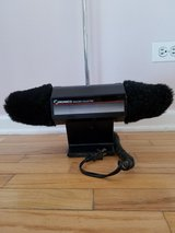 Electric Standing Shoe Polishing Buffer in Naperville, Illinois
