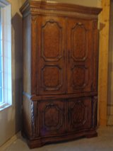 Walnut Armoire TV Cabinet in Glendale Heights, Illinois
