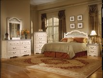 Floor Model 3Pc Washed Pine Bedroom Set in Beaufort, South Carolina