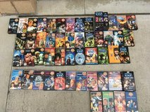 Classic Dr. Who VHS collection in Temecula, California