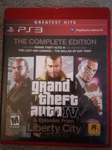 GTA 4: Complete edition (includes all extras and dlc), PS3 in Batavia, Illinois