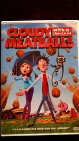 Cloudy With a Chance of Meatballs DVD in Fort Irwin, California
