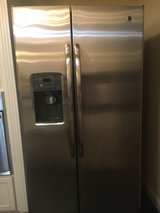 GE stainless steel refrigerator in El Paso, Texas