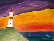 Lighthouse Painting in Brenham, Texas