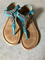 Turquoise sandals in Montgomery, Alabama