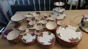 California Fransiscan Apple assorted  plates in Camp Pendleton, California
