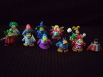 Club Penguin figures in The Woodlands, Texas