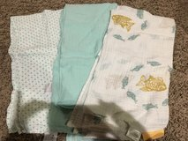 Aden and Anais/Bambino Land muslin blankets in Bartlett, Illinois