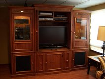 Broyhill Cherry Entertainment Center - 3 Piece in Orland Park, Illinois
