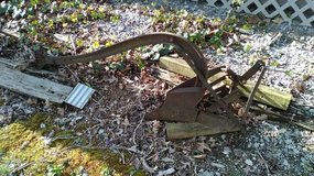 Antique Plow. Oliver in Fort Campbell, Kentucky