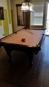 Pool table w/ accessories in Oceanside, California