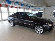 Mercedes Benz CLK AUTOMATIC ( Leather, Heated Seats, Power Moonroof, Custom Alloys, New TÜV!! ) in Ramstein, Germany
