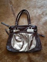 B. Makowsky large, real leather purse, brown in MacDill AFB, FL