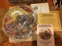 Reduced: Elephants The Wonder of the Circus Plate in Aurora, Illinois