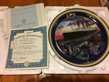 Reduced: Maiden Voyage Titanic Plate in Chicago, Illinois