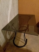 Table with glass top in Travis AFB, California