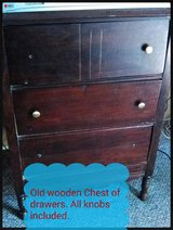 Wooden Chest of Four Drawers in Alexandria, Louisiana
