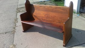Church Pew 55 1/4 inches Wide in Quad Cities, Iowa