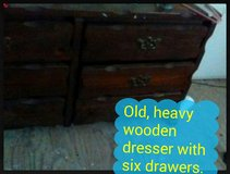Wooden Chest of Drawers in Alexandria, Louisiana
