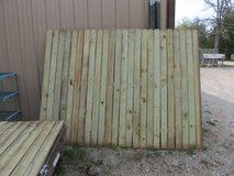 New Privacy Treated Board Fence 12 Pieces Never Used in Fort Leonard Wood, Missouri