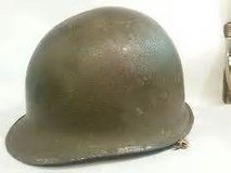 M1 Green helmet with liner in Lawton, Oklahoma