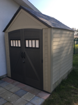 Storage shed in San Clemente, California