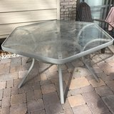 Outdoor Glass Table (Hexagon) in Buckley AFB, Colorado