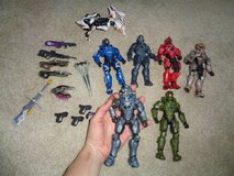 """6 Halo Alpha Crawlers lot of 6"""" figures w/all parts in Camp Lejeune, North Carolina"""