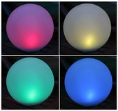 Solar Garden Globe Light - Large Color Changing LED Centerpiece, Table Light in Ramstein, Germany