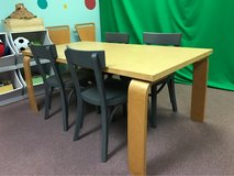 Children's IKEA Craft Table with 4 Chairs in Bolingbrook, Illinois