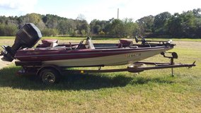 "1994 RayCraft 15'4"" Fiberglass With 115 Mercury in Leesville, Louisiana"