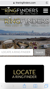Lost ring found San Diego in Oceanside, California